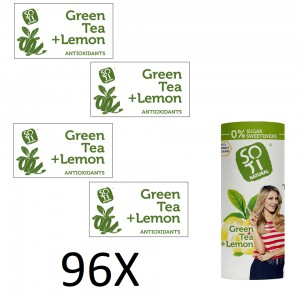 Green with lemon peel 230 ml x 96 pcs. Eco can Green with lemon peel 230 ml x 96 pcs. Eco can