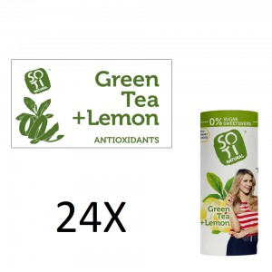 Green with lemon peel 230 ml x 24 pcs. Eco can